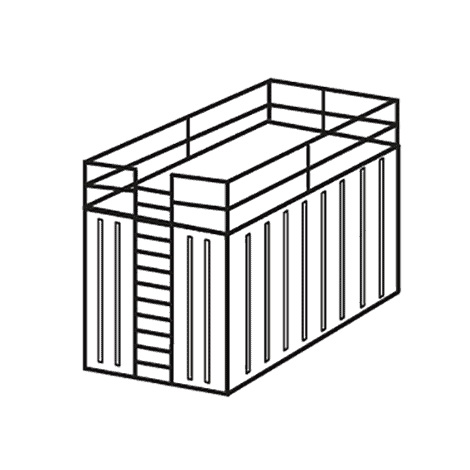 Dropsafe Barrier Installation Type - Raised Storage Areas